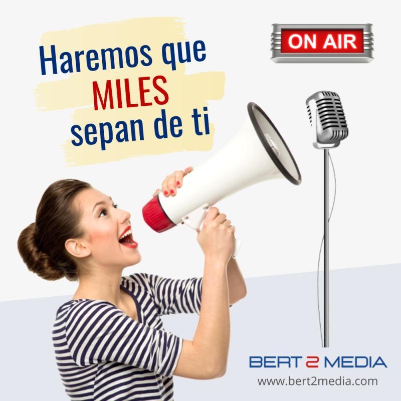 Publicidad en radio Tenerife - BERT 2 MEDIA